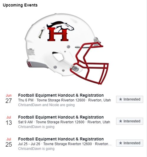 Herriman Upcoming Dates